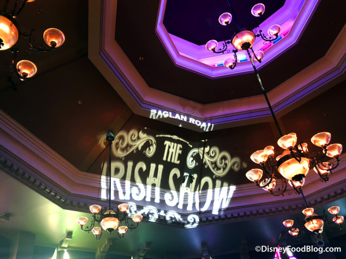 Getting ready for the Irish Show!