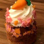 NEW! Disneyland's Jolly Holiday Carrot Cake Cupcake