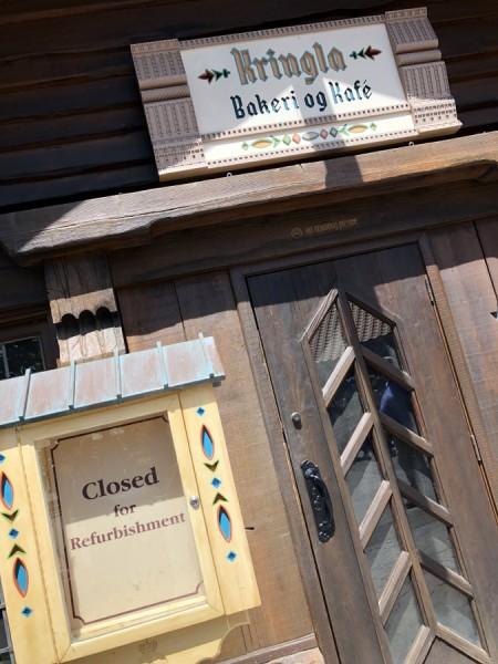 Kringla Bakeri og Kafe closed for refurbishment