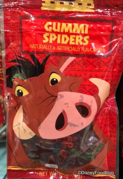 Gummi Spiders