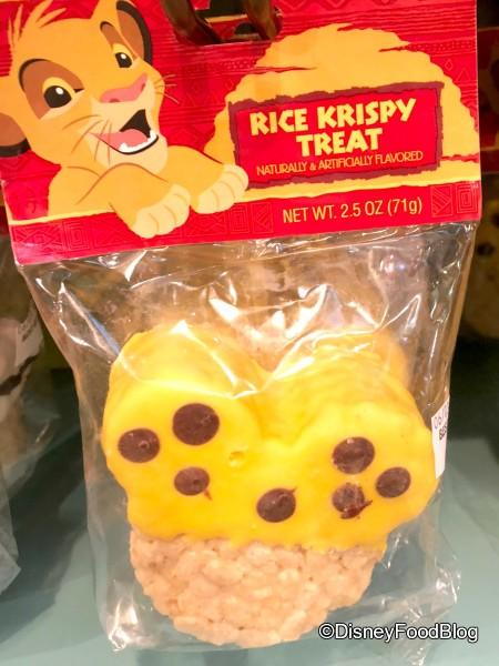 Spotted Rice Krispy Treat