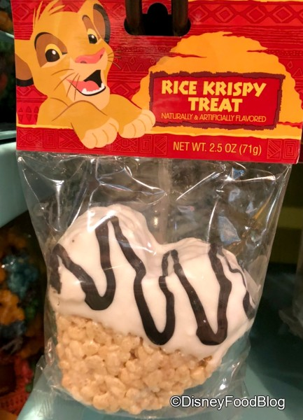 Striped Rice Krispie Treat