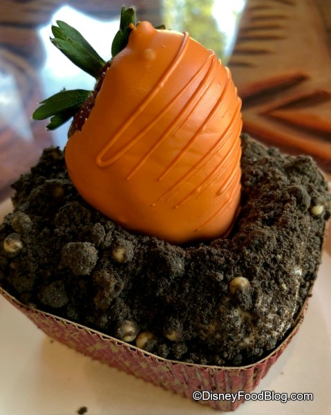 """Carrot Cake with """"Carrot"""" on top"""