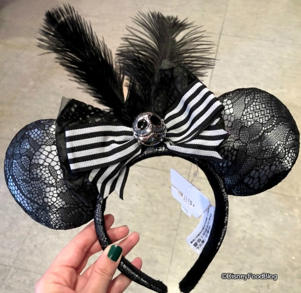 Jack Skellington Minnie Ears