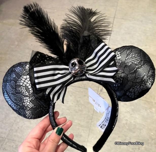 Jack Skellington Minnie Ears