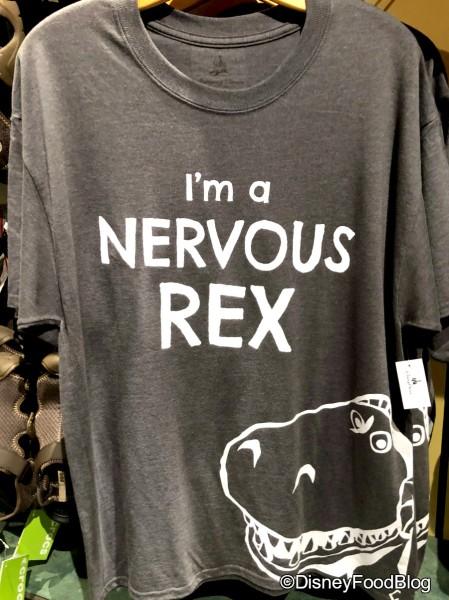I'm a Nervous Rex Tee