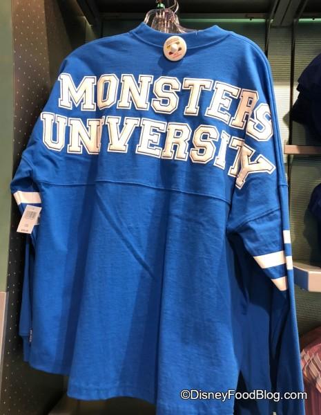 Monsters University Spirit Jersey!