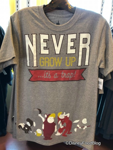 Never Grow Up Tee