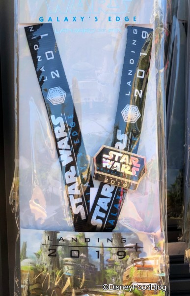 Galaxy's Edge Lanyard with Pin