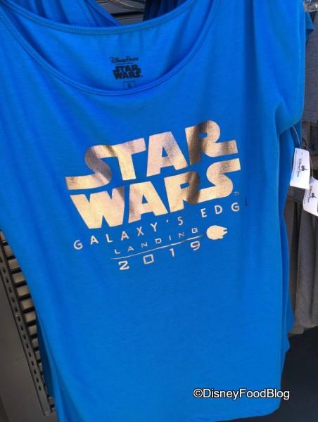 Galaxy's Edge Tee Shirt