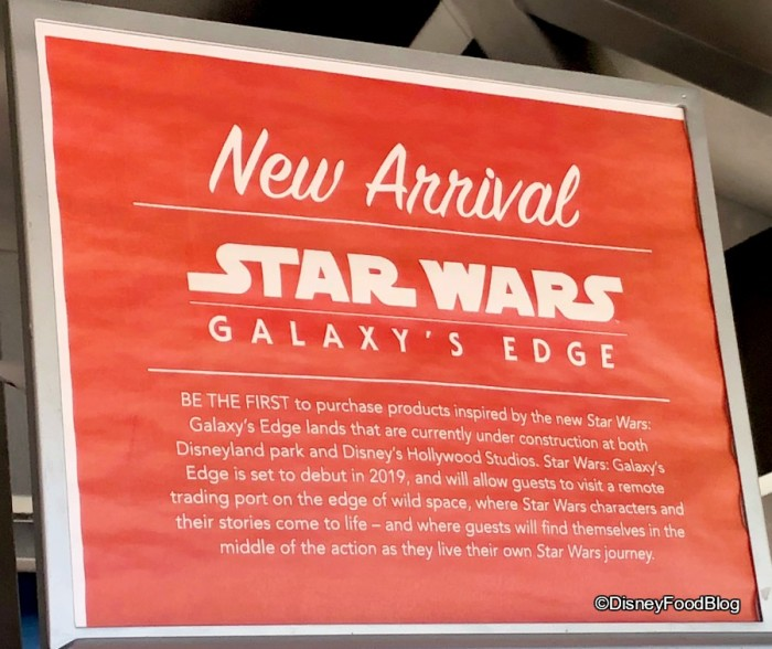 Galaxy's Edge Merch Arrival!