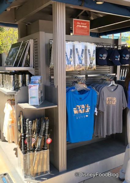 Galaxy's Edge Merchandise Cart