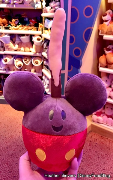Mickey Caramel Apple Plush