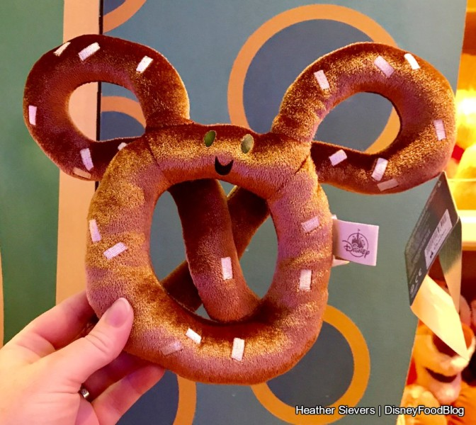 Mickey Pretzel Plush