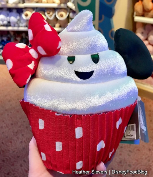 Minnie Mouse Cupcake Plush