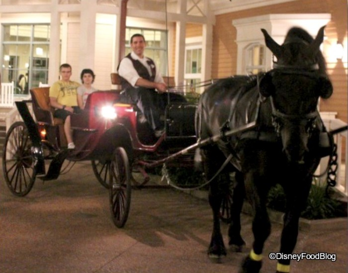 Port Orleans Horsedrawn Carriage Ride