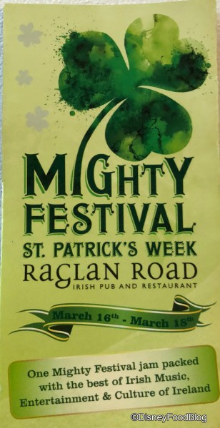 Mighty Festival Pamphlet