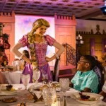 FIRST LOOK: Rapunzel's Royal Table on the Disney Magic Cruise Ship!