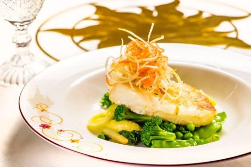 Pan-Seared Sea Bass Filet ©Disney