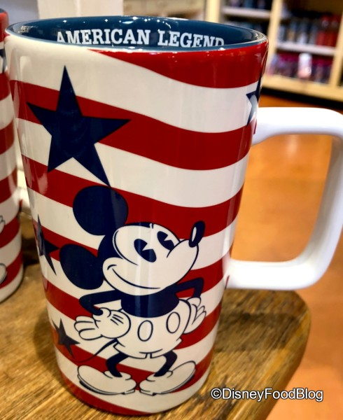 Red, White, and Blue Mickey Line at Marketplace Co-Op