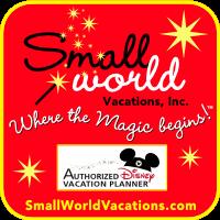 Small World Square Banner
