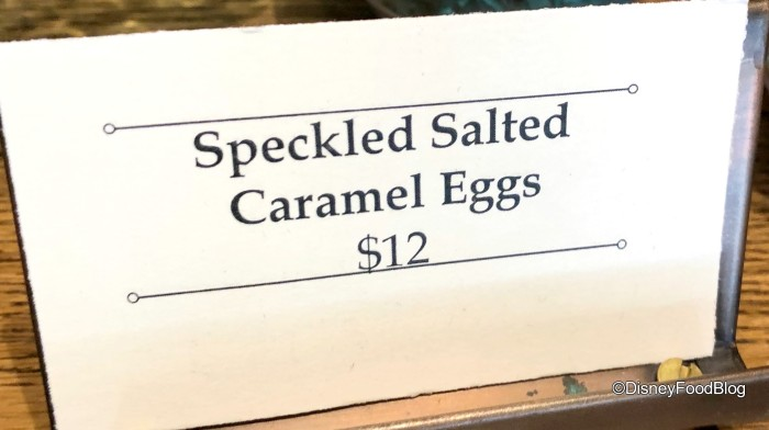 Speckled Salted Caramel Eggs at The Ganachery