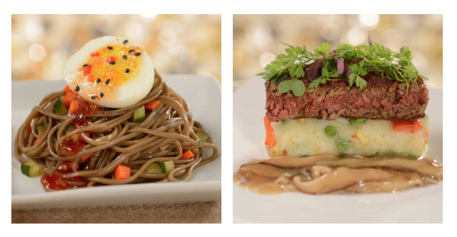 Soba Noodle Salad and Plantmeat on Rootcrush ©Disney
