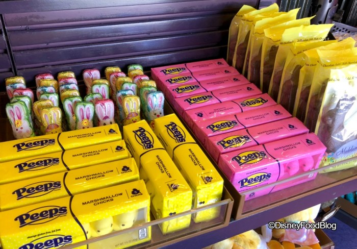 Easter Candy and Peeps at Sweet Spells