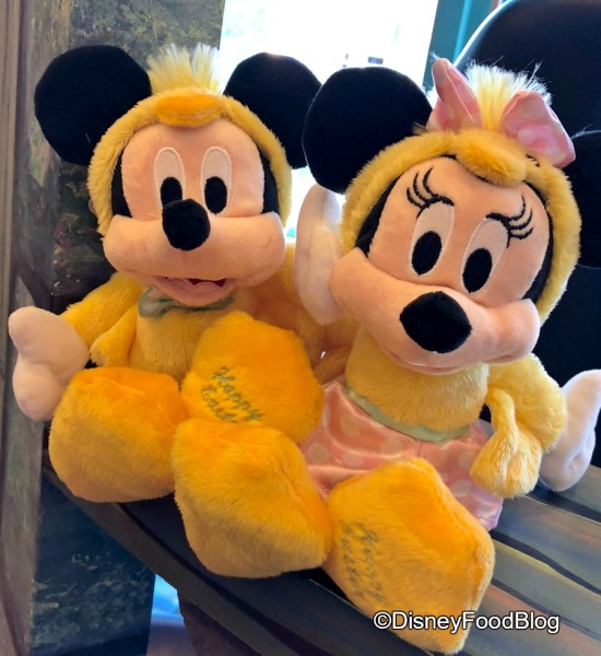 Mickey and Minnie are ready for Easter at Sweet Spells