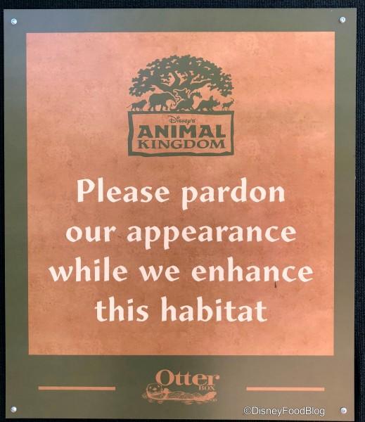 Pardon our appearance!