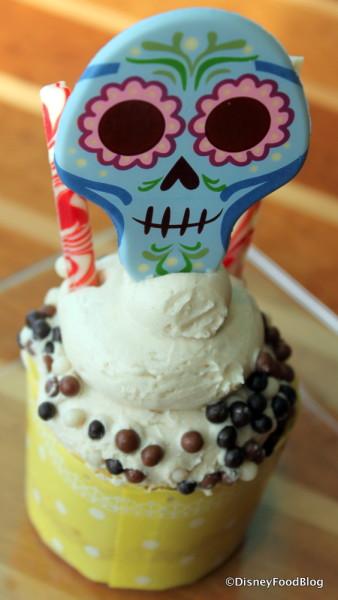 Coco Peanut Butter Cupcake