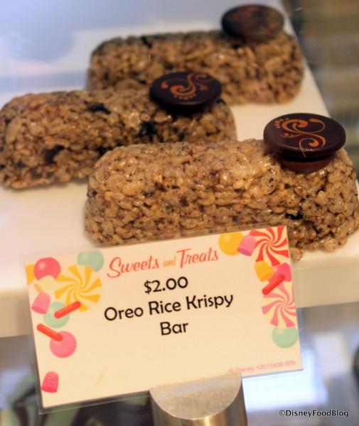 Oreo Rice Krispy Bar