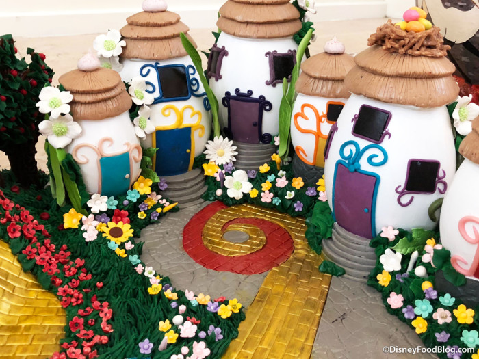 Wizard of Oz Egg Village