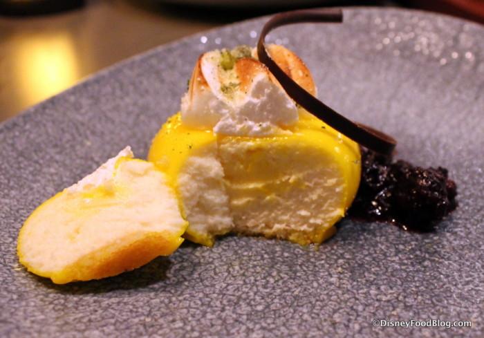 """Inside the Lemon """"curd"""""""