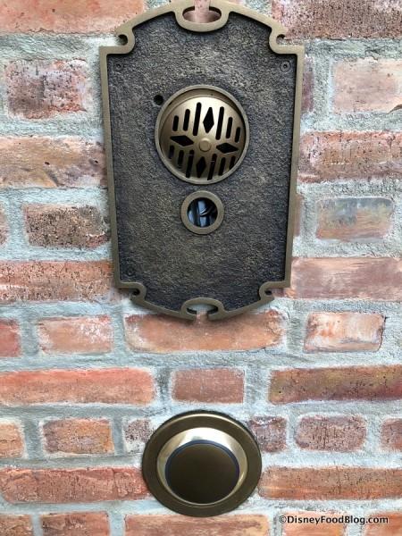 Doorbell next to door