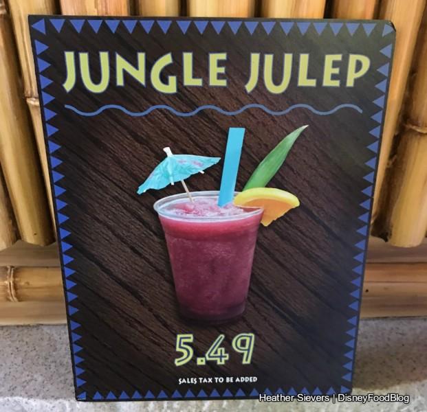 Jungle Julep Sign