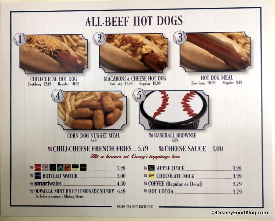 Caseys Corner Hot Dog Of The Month