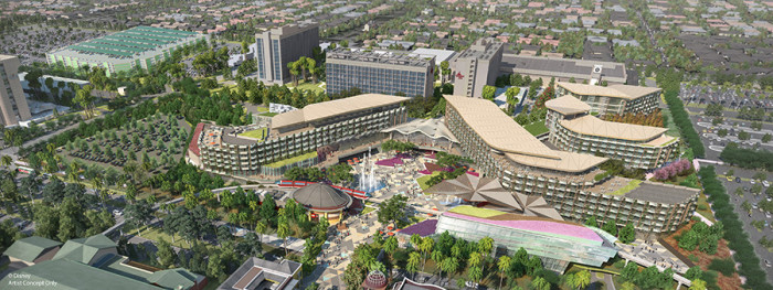 New Disneyland Resort Hotel Concept Art ©Disney