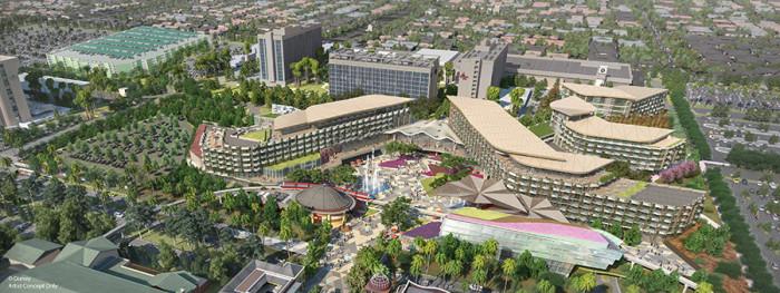New Disneyland Resort Hotel Concept Art ©Disney