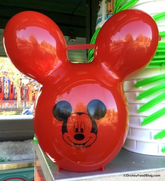 Mickey Balloon Popcorn Bucket
