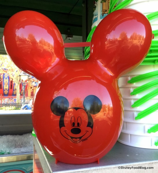 Mickey Balloon Popcorn Bucket