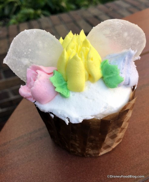 Flower Crown Cupcake