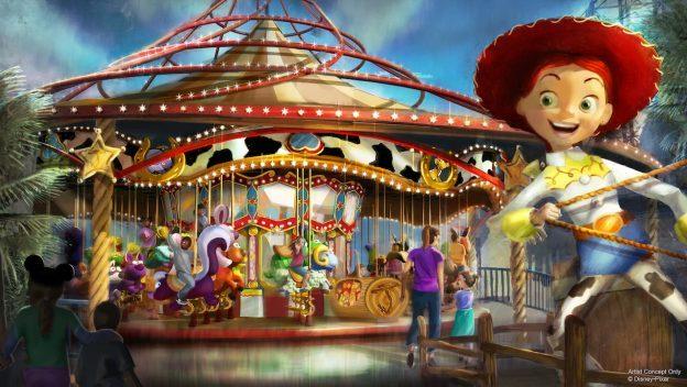 Jessie's Critter Carousel ©Disney