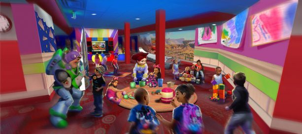 Pixar Play Zone concept art ©Disney