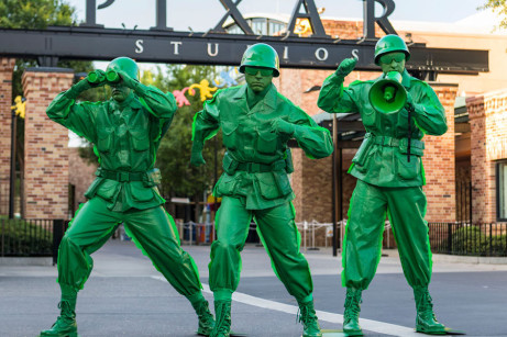 Green Army Men ©Disney