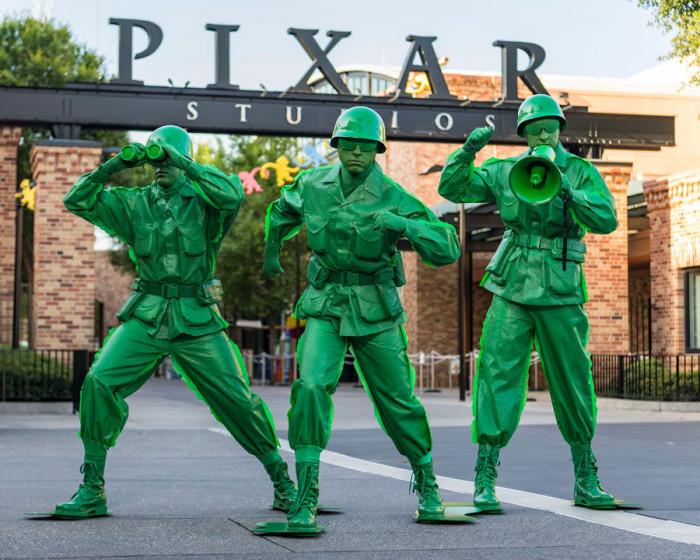 Green Army Men ©Disney