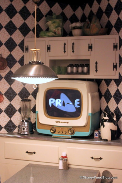 50s Prime Time Cafe Seating