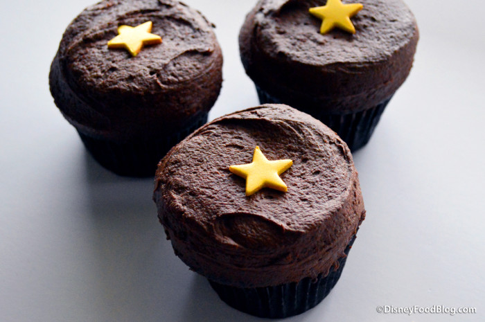 Black Velvet Birthday Cupcakes from Sprinkles!