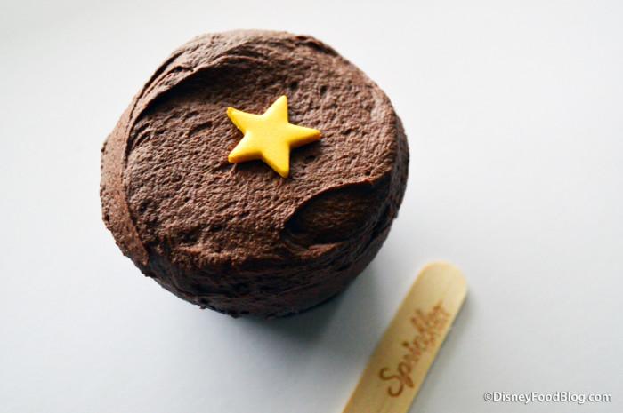 Black Velvet Birthday Cupcake