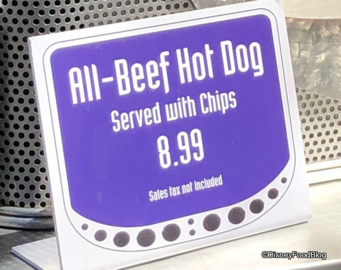Cooling Station has All-Beef Hot Dog